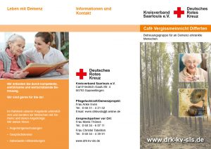 Flyer Demenz DRK Differten