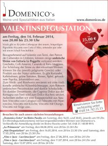 E-Mail Aktion Domenicos Valentinstag