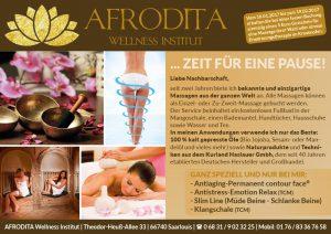 Anzeige Afrodita Wellnessinstitut