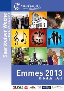 Plakat Emmes 2013