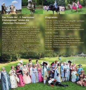 Flyer Kulturamt Barocke Festspiele 2015