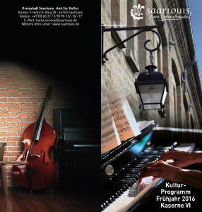 Flyer Kulturamt Kulturprogramm 2016