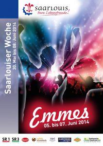 Plakat Emmes 2014