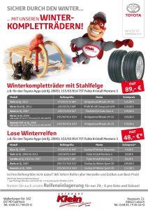 Flyer Winterkomplettraeder Autohaus Klein