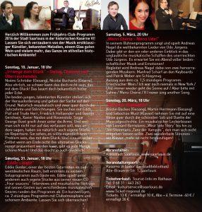 Flyer Kulturamt Kulturprogramm 2016 Seite 2