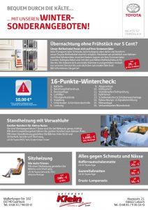 Flyer Winterreifen Autohaus Klein Seite 2