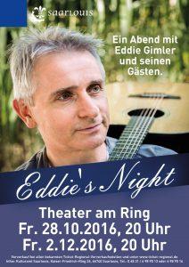 Flyer Kulturamt Eddies Night