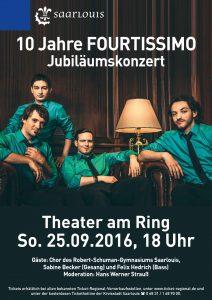 Flyer Kulturamt Fourtissimo