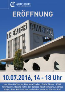 Flyer Eröffnung des Theater am Ring