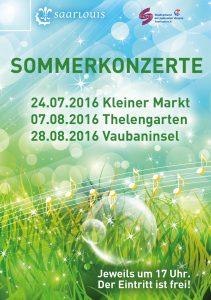 Flyer Kulturamt Sommerkonzerte 2016