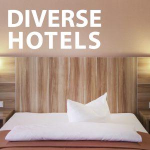 Cover für diverse Hotels als unsere Kunden