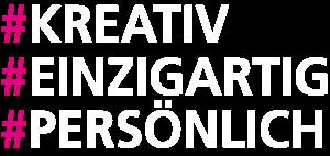 Hashtags kreativ einzigartig persoenlich