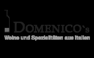 Logo Domenicos schwarz